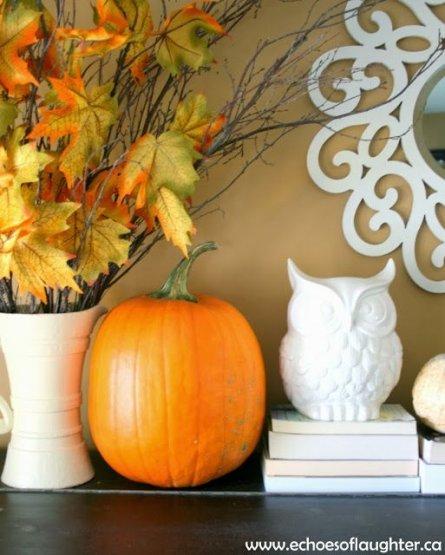 Inspiration ORANGE! (ou comment l'Halloween peut influencer notre déco)
