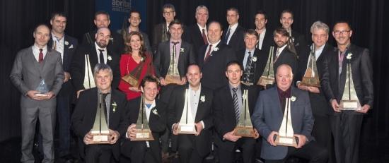 Les représentants des projets lauréats d'un Prix NOBILIS 2015