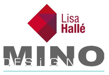 Lisa Hallé designer et Mino Design