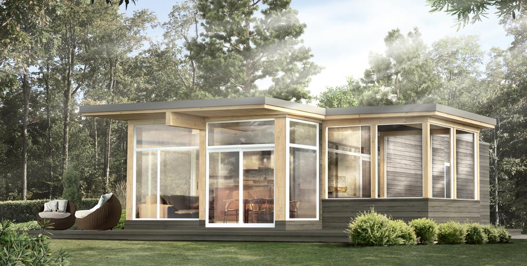 combien coute une maison bonneville nature ventana blog. Black Bedroom Furniture Sets. Home Design Ideas