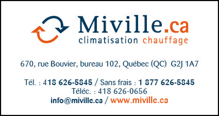 Miville Solution Climat Confort inc.