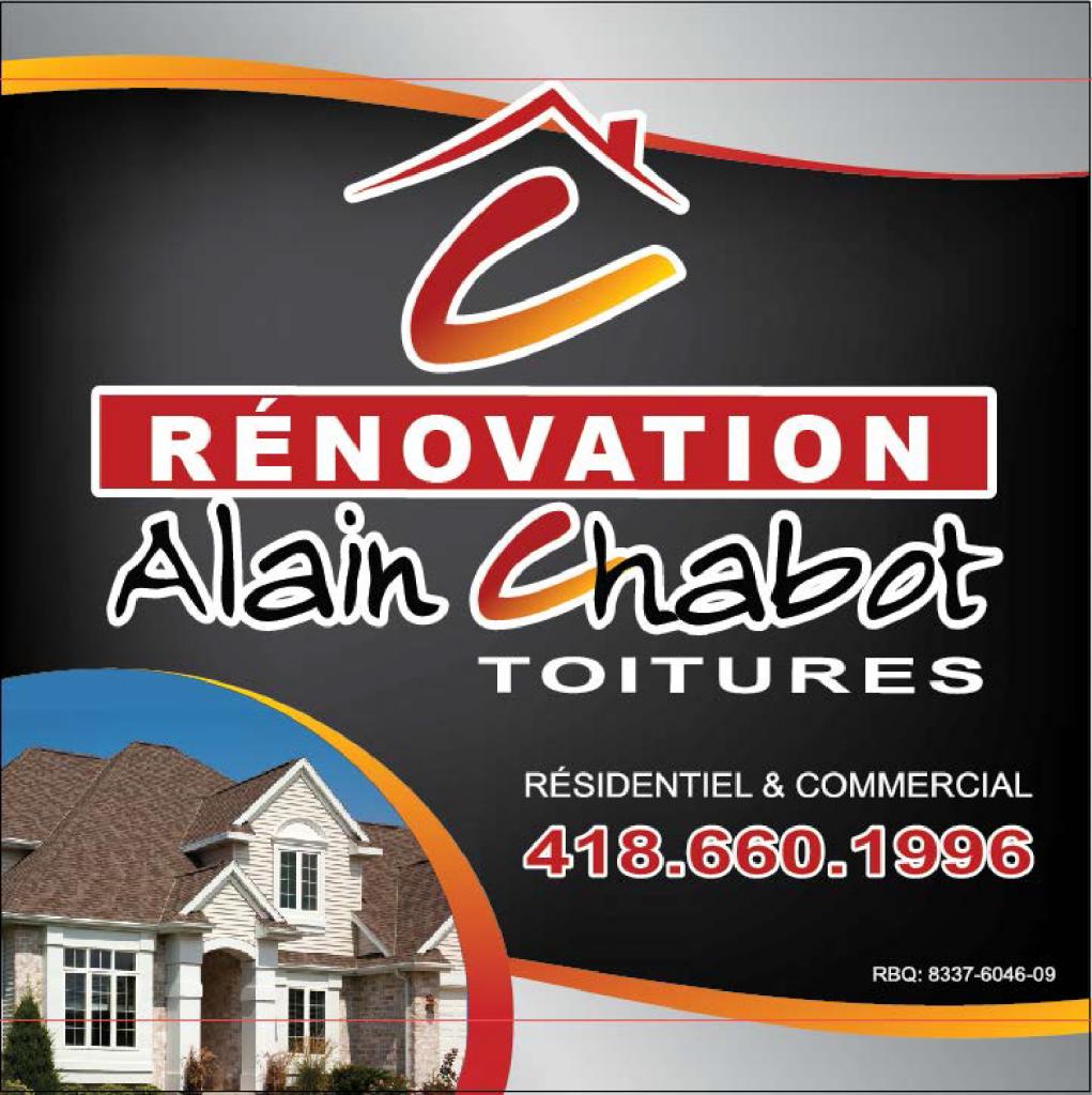 Rénovation Alain Chabot Toitures