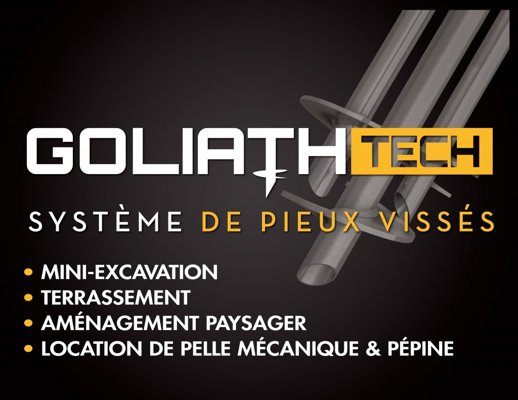Système de Pieux Vissés GoliathTech